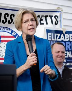 Elizabeth Warren | Image courtesy Tim Pierce | Flickr